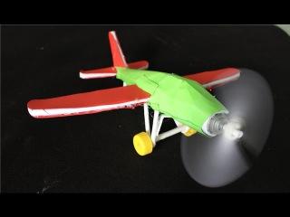Как сделать электрический самолет | бумажный самолетик