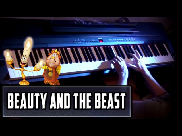 Beauty and the Beast - Prologue on Piano | Rhaeide