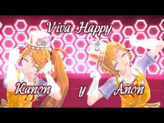 【MMD】Viva Happy 【TDA Anon y Knon】