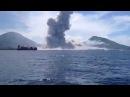 Извержение вулкана в Новой Гвинее
