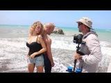 Бэкстейдж со съемок клипа Евы Анри От слова лето
