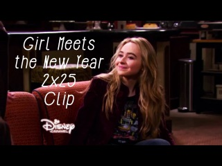 Girl Meets the New Year (2x25) Clip // 'Who's with who at midnight?'