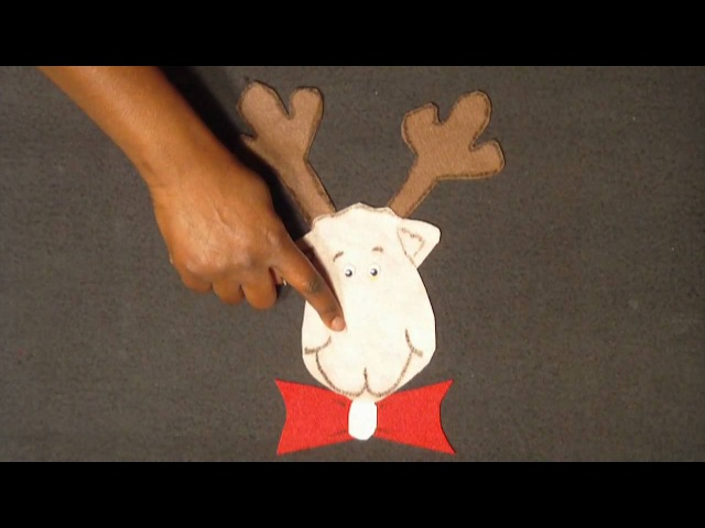 Christmas Music for children - Rudolph's Nose song - Littlestorybug