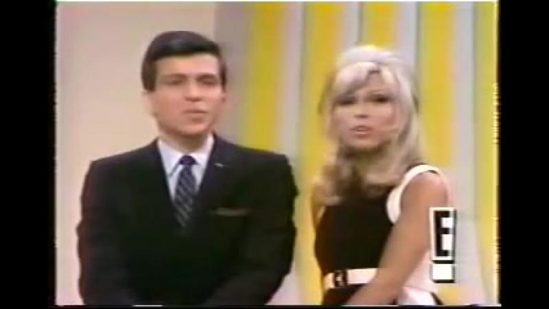 FRANK NANCY SINATRA something stupid - 1967