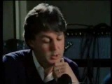 Paul McCartney cries after John Lennon's death