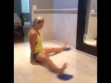 """ПП, ЗОЖ, ФИТНЕС, УПРАЖНЕНИЯ on Instagram: """"Простая тренировка на ноги и плечевой пояс! Каждое упражнение по 5 подходов по 30 повторений! Отмечайте друзей!…"""""""