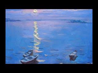 1я часть. МК по живописи: Атмосферный свет. Работаем с пейзажем. Пастель.