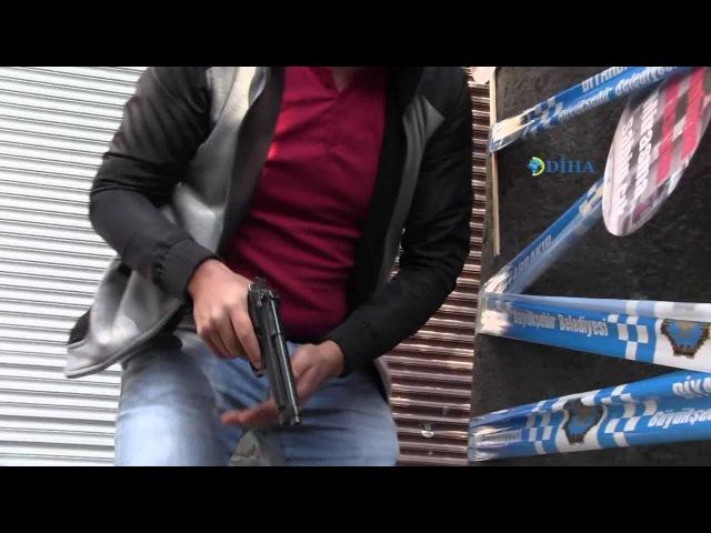 YENİ | DİHA kamerasından TahirElcinin vurulma anı