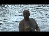 ЗМЕЯ-гадюка на реке вопь ОХОТИТСЯ на ярцевчан-рыбаков и певец пророк сан бой