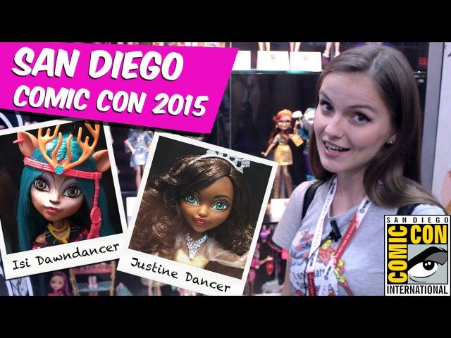 Обзор новинок Comic Con 2015 Isi Dawndancer и Justine Dancer (Monster High,Ever After High)