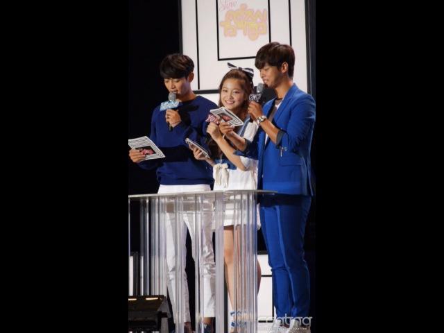 150727 MC Yeri (Red Velvet) @ Music Core Ulsan Festival Fancam (YouTube)