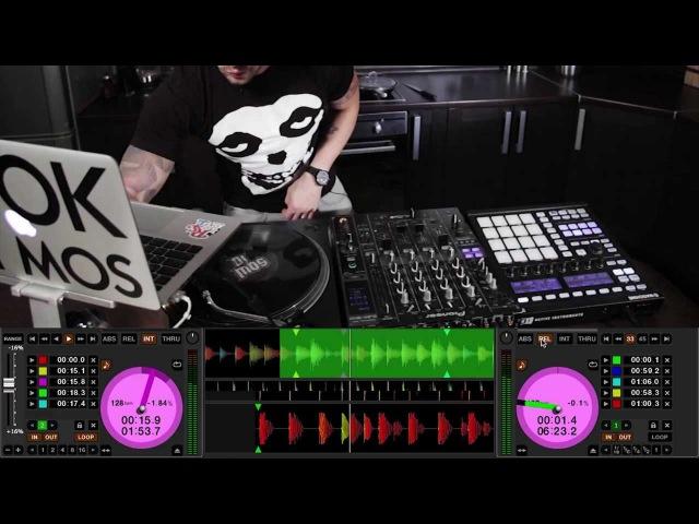 Maschine Serato TonePlay DJ Mos routine