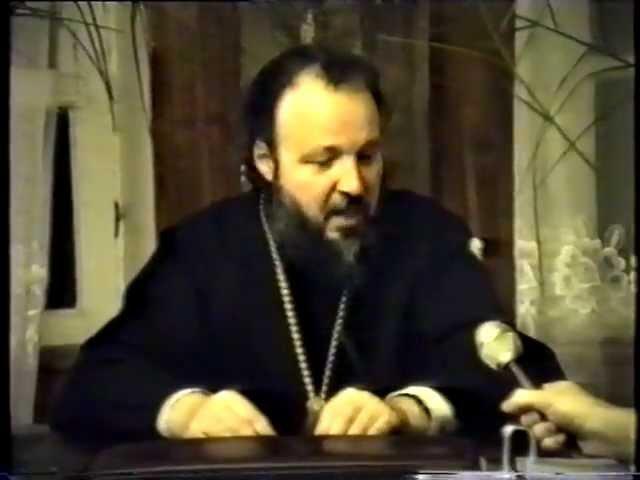 Интервью будущего Патриарха Кирилла 1989 г