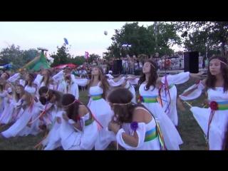 Танец на Ивана Купала в г Шпола