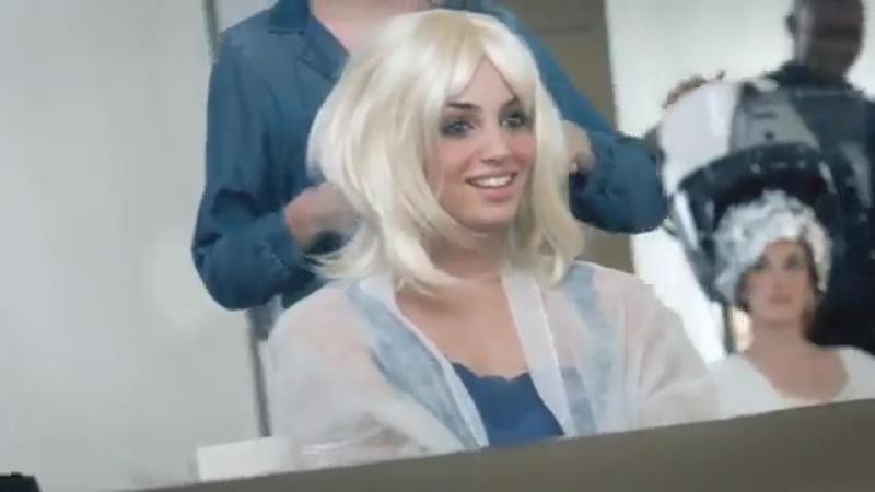 Ализе с клипом Блондинка