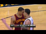 Lyles, Frye Ejected After Confrontation ¦ Cavaliers vs Jazz ¦ March 14, 2016 ¦ NBA