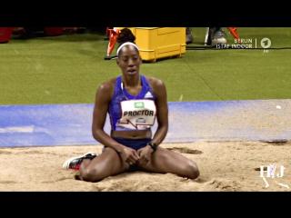 Shara Proctor Long Jump 6.91m ISTAF Indoor 2016