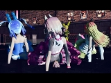 [MMD] [FNAF] Toxic [Mangle, Bonnie,Chika, and others]