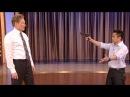 Steven Ho Teaches Conan Defense Against Guns Knives - CONAN on TBS