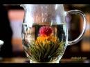 Связанный чай цветок - очень красиво!