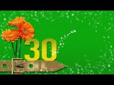 ФУТАЖ МУЖСКОЙ С ДНЁМ РОЖДЕНИЯ 30 лет