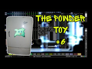 The Powder Toy (Симулятор Химии и Физики) #4 - Холодильник