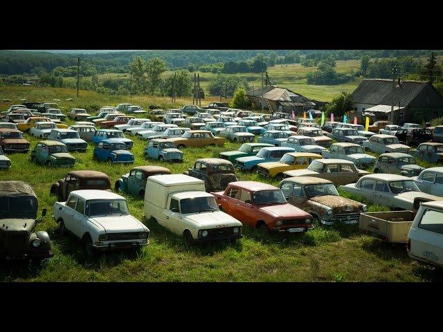 Забытые автомобили (часть 4) музей в Черноусово / Abandoned Russian cars