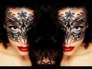 Eyeliner Halloween Masquerade Ball Mask Drawn On! - Using Drugstore Make Up