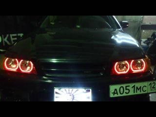 LED TTSL Angel Eyes DRL Toyota Chaser 100 by TAU tech Ангельские глазки для Тойота Чайзер