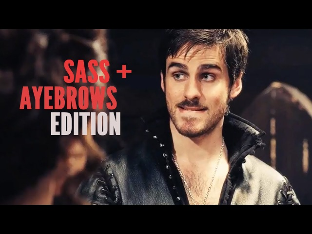(OUAT) Hook Peter | Sass Ayebrows Edition