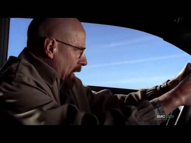 Breaking bad - Walter driving