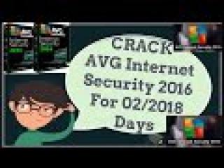 CRACK-AVG Internet Security 2016 For 02/2018 Days Using keys (2016)-Cracker Plus Hacker