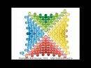 Мозаичный четырёхугольник с ндебельскими гранями. Бисерный мульт