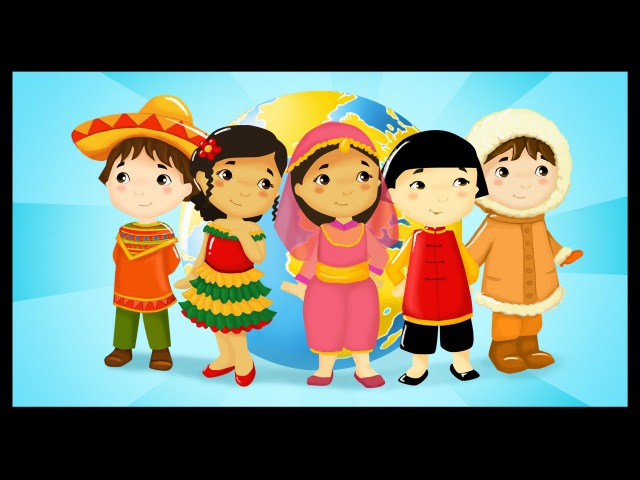 Les pays du monde - Maroc, Brésil, Canada, Italie, Inde - Comptines pour apprendre les pays