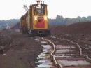 Peat-train in a north german moor (narrow gauge, 900 mm, near the village of Börgermoor)