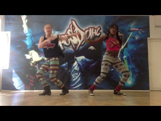 Kimiko Versatile and Maria Jarussian collabo routine
