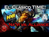 El Clásico Time! Na`Vi vs. Alliance Game 2