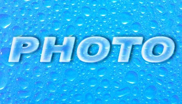 Как сделать прозрачные надписи на фото