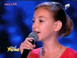 12-летняя румынская девочка с песней Лары Фабиан!