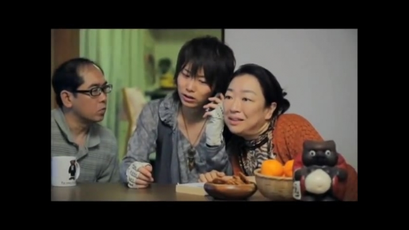 GACKT- Nico Nico Douga 2nd CM with Pokota (subbed)