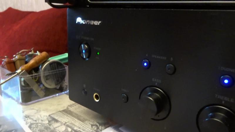 Pioneer A-30 и Электроника 25АС-128