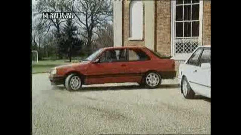 Peugeot 309 GTI spot commercial 1989 (pubblicità)