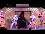 Darth Vader and Boba Fett dance to Michael Jackson's Bad - Hyperspace Hoopla 2013