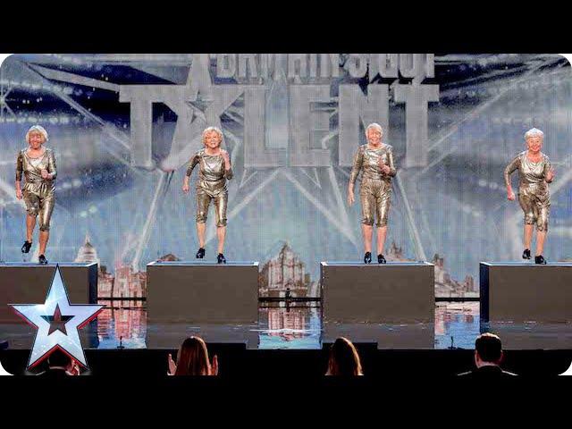 Could dance act The Cocooners tap into the Judges favour   Britains Got Talent 2015