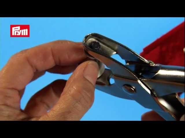 Prym Pliers for Press Fasteners, Eyelets, Piercing
