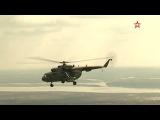 Боевые вертолеты РФ над Таджикистаном - эксклюзивные кадры
