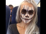 "@kylalagrange on Instagram: ""When u r a monster but everyone on the plane acts like ur just a regular guy and you feel accepted"""