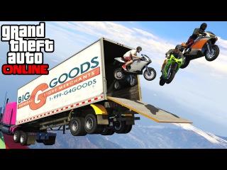 GTA 5: Online - Cargo Plane Stunts, Hide-and-Seek & Survive The Tank