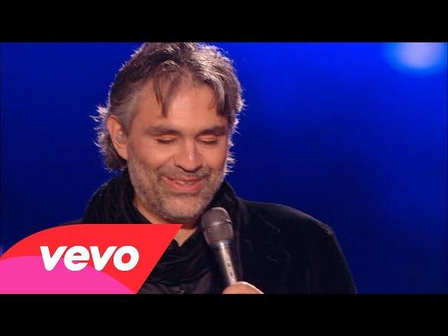 Andrea Bocelli - Can't Help Falling In Love (HD)
