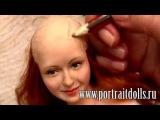 Анонс МК Как сделать куклу из пластика